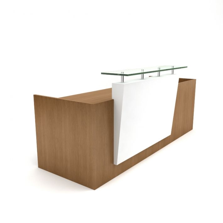 Building A Reception Desk How To Build A Curved  : OfficeReceptionDesk from sherlockdesigner.com size 710 x 710 jpeg 20kB